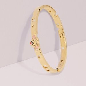 Kate Spade x Tom & Jerry Hinged Bangle Bracelet
